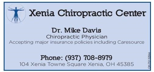 Xenia Chiropractic January 2020 Newsletter