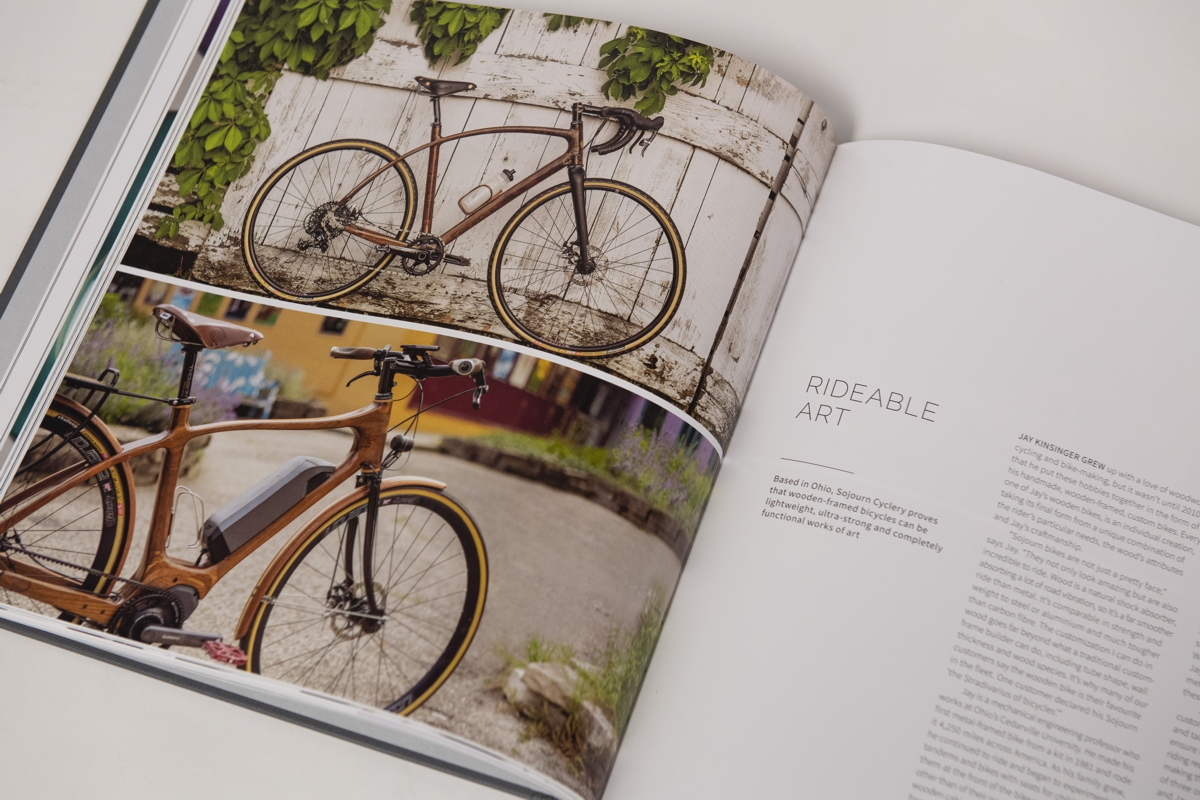 Sojourn Cyclery Rolls Royce Book